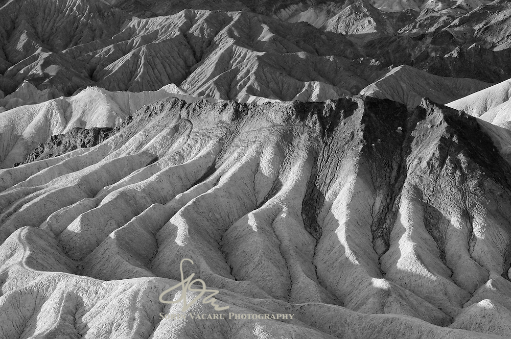 Badlands at Zabriskie Point, Death Valley National Park