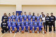 ROMA 13 DICEMBRE 2011<br /> NAZIONALE FEMMINILE UNDER 18 LAZIO BASKET<br /> NELLA FOTO team italia<br /> FOTO CIAMILLO