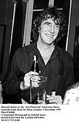 Howard Marks at the  'Get Plastered'  Christmas Party.<br />