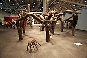 """Art 38 Basel. Art Unlimited Pre-Opening. Ai Weiwei, """"Fragments"""", 2005. CAAW/Galerie Urs Meile, Luzern."""