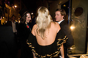ALICE DAWSON, The Tatler Little Black Book party. Tramp. 40 Jermyn St. London SW1 *** Local Caption *** -DO NOT ARCHIVE-&copy; Copyright Photograph by Dafydd Jones. 248 Clapham Rd. London SW9 0PZ. Tel 0207 820 0771. www.dafjones.com.<br /> ALICE DAWSON, The Tatler Little Black Book party. Tramp. 40 Jermyn St. London SW1