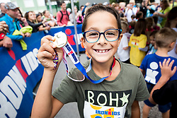 IronKids event 1 day before Ironman 70.3 Slovenian Istra 2018, on September 22, 2018 in Izola/Isola, Slovenia. Photo by Vid Ponikvar / Sportida