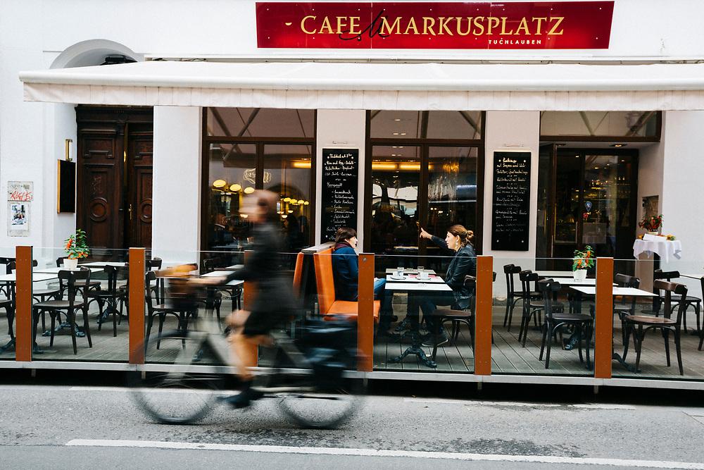 Cafe Markusplatz, Vienna, Austria