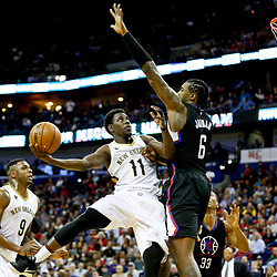 12-28-2016 Los Angeles Clippers at New Orleans Pelicans
