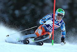 06.01.2014, Stelvio, Bormio, ITA, FIS Weltcup Ski Alpin, Bormio, Slalom, Herren, im Bild Jonathan Nordbotten // Jonathan Nordbotten  in action during mens Slalom of the Bormio FIS Ski World Cup at the Stelvio in Bormio, Italy on 2014/01/06. EXPA Pictures © 2014, PhotoCredit: EXPA/ Sammy Minkoff<br /> <br /> *****ATTENTION - OUT of GER*****