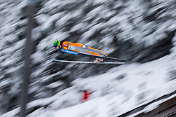 15.12.2017, Nordische Arena, Ramsau, AUT, FIS Weltcup Nordische Kombination, Skisprung, im Bild Eero Hirvonen (FIN) // Eero Hirvonen of Finland during Cross Country Training of FIS Nordic Combined World Cup, at the Nordic Arena in Ramsau, Austria on 2017/12/15. EXPA Pictures © 2017, PhotoCredit: EXPA/ Dominik Angerer