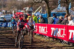 Tobin Ortenblad (USA), Men Under 23, Cyclo-cross World Championships Tabor, Czech Republic, 1 February 2015, Photo by Pim Nijland / PelotonPhotos.com