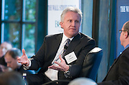 The Wall Street Journal Viewpoints Executive Breakfast Series featuring Jeffrey Immelt, Chairman and CEO of General Electric at the Bryant Park Grill in New York on February 5, 2009.  (photo by Gabe Palacio)