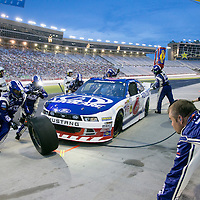 Hampton, GA - Aug 30, 2014:  The NASCAR Nationwide Series teams take to the track for the Great Clips 300 at Atlanta Motor Speedway in Hampton, GA.