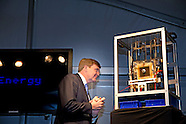 King Willem Alexander opens Wednesday November 26, 2014 the Blue Energy pilot plant in Breezanddijk