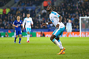 Newcastle United midfielder Moussa Sissoko (7)  waits for the ball during the Barclays Premier League match between Leicester City and Newcastle United at the King Power Stadium, Leicester, England on 14 March 2016. Photo by Simon Davies.