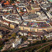 Palais Vest Recklinghausen, mfi, Shopping Center, ehemaliges Löhrhof Center, Luftbild: J. Gutzeit