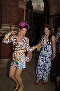 COUNTESS PAOLA VON CSAKY;   CATHERINE HUNT, V & A Summer party. South Kensington. London. 22 June 2016