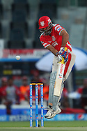 Virender Sehwag of the Kings X1 Punjab during match 15 of the Pepsi Indian Premier League 2014 Season between The Kings XI Punjab and the Kolkata Knight Riders held at the Sheikh Zayed Stadium, Abu Dhabi, United Arab Emirates on the 26th April 2014<br /> <br /> Photo by Ron Gaunt / IPL / SPORTZPICS