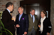 William Shawcross, Mark Shand, Don McCullin and Patti Palmer- Tompkinson. Book party for LAST VOYAGE OF THE VALENTINA by Santa Montefiore (Hodder & Stoughton) Asprey,  New Bond St. 12 April 2005. ONE TIME USE ONLY - DO NOT ARCHIVE  © Copyright Photograph by Dafydd Jones 66 Stockwell Park Rd. London SW9 0DA Tel 020 7733 0108 www.dafjones.com