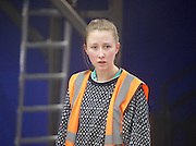 Wish List <br /> by Katherine Soper <br /> directed by Matthew Xia <br /> at the Royal Court Theatre, London, Great Britain <br /> press photocall <br /> 10th January 2017 <br /> <br /> Erin Doherty <br /> as Tamsin Carmody <br /> <br /> <br /> <br /> <br /> Photograph by Elliott Franks <br /> Image licensed to Elliott Franks Photography Services