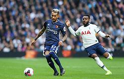 Roberto Pereyra of Watford runs with the ball - Mandatory by-line: Arron Gent/JMP - 19/10/2019 - FOOTBALL - Tottenham Hotspur Stadium - London, England - Tottenham Hotspur v Watford - Premier League