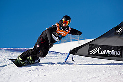 SHEA Mike, Banked Slalom, 2015 IPC Snowboarding World Championships, La Molina, Spain
