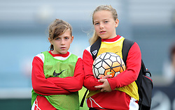 Ball girls at Bristol City Women v Durham Ladies - Mandatory by-line: Paul Knight/JMP - 24/09/2016 - FOOTBALL - Stoke Gifford Stadium - Bristol, England - Bristol City Women v Durham Ladies - FA Women's Super League 2