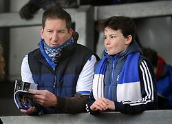 Bristol Rovers fans - Mandatory by-line: Neil Brookman/JMP - 01/01/2018 - FOOTBALL - Memorial Stadium - Bristol, England - Bristol Rovers v Portsmouth - Sky Bet League One