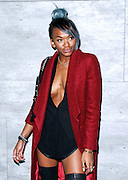 Elisa Johnson attends the Charlotte Ronson presentation during the Mercedes-Benz Fall/Winter 2015 shows at the Pavilion in Lincoln Center in New York City, New York on February 13, 2015.