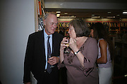 Richard Shepherd and Clare Short, Launch of Martin Bell's ' The Truth That Sticks: New Labour's Breach Of Trust.' Foyles. London. 5 September 2007.  -DO NOT ARCHIVE-© Copyright Photograph by Dafydd Jones. 248 Clapham Rd. London SW9 0PZ. Tel 0207 820 0771. www.dafjones.com.