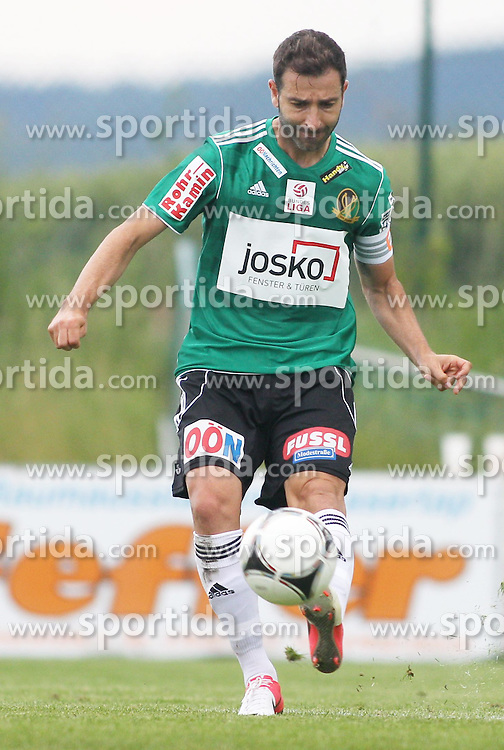 22.06.2012, Sportplatz SK Kammer, Kammer, AUT, 1. FBL, Testspiel, SV Josko Ried vs MSK Zilina, im Bild /Ignacio Rodriguez-Ortiz, (SV Josko Ried, #11)/ during Preparation Game for the 1. FBL between SV Josko Ried and MSK Zilina at the Sportplatz SK Kammer, Kammer, Austria on 2012/06/22 . EXPA Pictures © 2012, PhotoCredit: EXPA/ R. Hackl