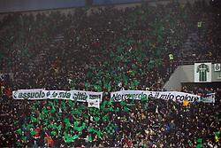 """Foto Filippo Rubin<br /> 10/02/2019 Reggio Emilia (Italia)<br /> Sport Calcio<br /> Sassuolo - Juventus - Campionato di calcio Serie A 2018/2019 - Stadio """"Mapei Stadium""""<br /> Nella foto: I TIFOSI DEL SASSUOLO<br /> <br /> Photo Filippo Rubin<br /> February 10, 2019 Reggio Emilia (Italy)<br /> Sport Soccer<br /> Sassuolo vs Juventus - Italian Football Championship League A 2018/2019 - """"Mapei Stadium"""" Stadium <br /> In the pic: SASSUOLO SUPPORTERS"""