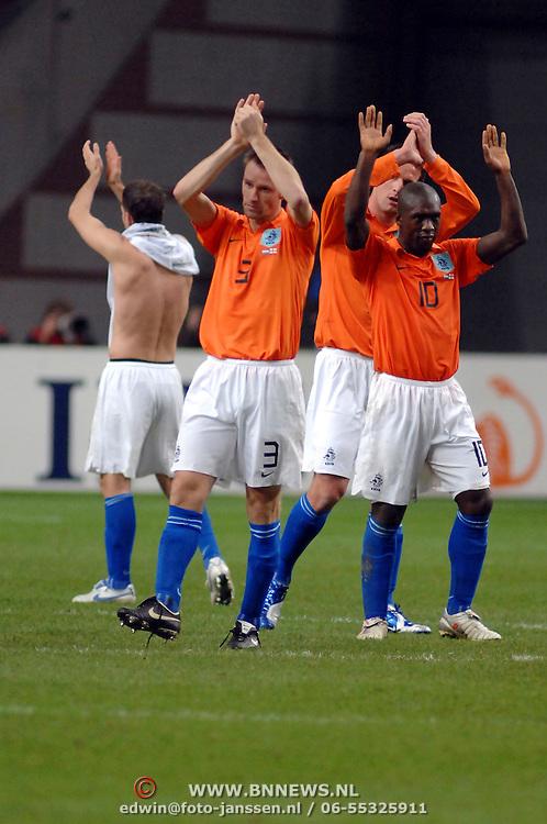 NLD/Amsterdam/20061115 - Voetbal, Nederland - Engeland,