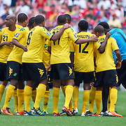 Jamaica takes the felid at the concacaf gold cup quarterfinals Sunday, June 19, 2011 at  RFK Stadium in Washington DC.