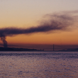 1989 Loma Prieta Earthquake as Seen from Treasure Island