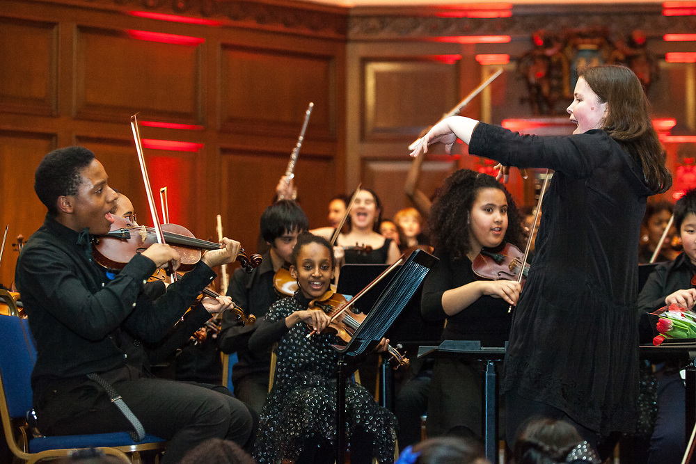 The Nucleo Project 5th Anniversary Concert 2018. The Nucleo Project is a Sistema programme working with children and young people in North Kensington, part of the 'social action through music' movement. London, Feb. 08, 2018 (Photos/Ivan Gonzalez)