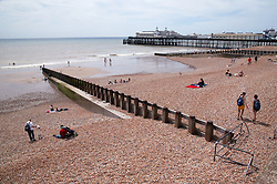Hastings seafront and pier,