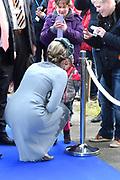 Staatsbezoek aan Nederland van Zijne Majesteit Koning Filip der Belgen vergezeld door Hare Majesteit Koningin <br /> Mathilde aan Nederland.<br /> <br /> State Visit to the Netherlands of His Majesty King of the Belgians Filip accompanied by Her Majesty Queen<br /> Mathilde Netherlands<br /> <br /> op de foto / On the photo: Koningin Mathilde bezoekt  de High Tech campus Eindhoven //// Queen Mathilde will visit the High Tech Campus Eindhoven