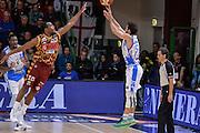 DESCRIZIONE : Campionato 2015/16 Serie A Beko Dinamo Banco di Sardegna Sassari - Umana Reyer Venezia<br /> GIOCATORE : Rok Stipcevic<br /> CATEGORIA : Tiro Tre Punti Three Point Controcampo Ritardo<br /> SQUADRA : Dinamo Banco di Sardegna Sassari<br /> EVENTO : LegaBasket Serie A Beko 2015/2016<br /> GARA : Dinamo Banco di Sardegna Sassari - Umana Reyer Venezia<br /> DATA : 01/11/2015<br /> SPORT : Pallacanestro <br /> AUTORE : Agenzia Ciamillo-Castoria/L.Canu
