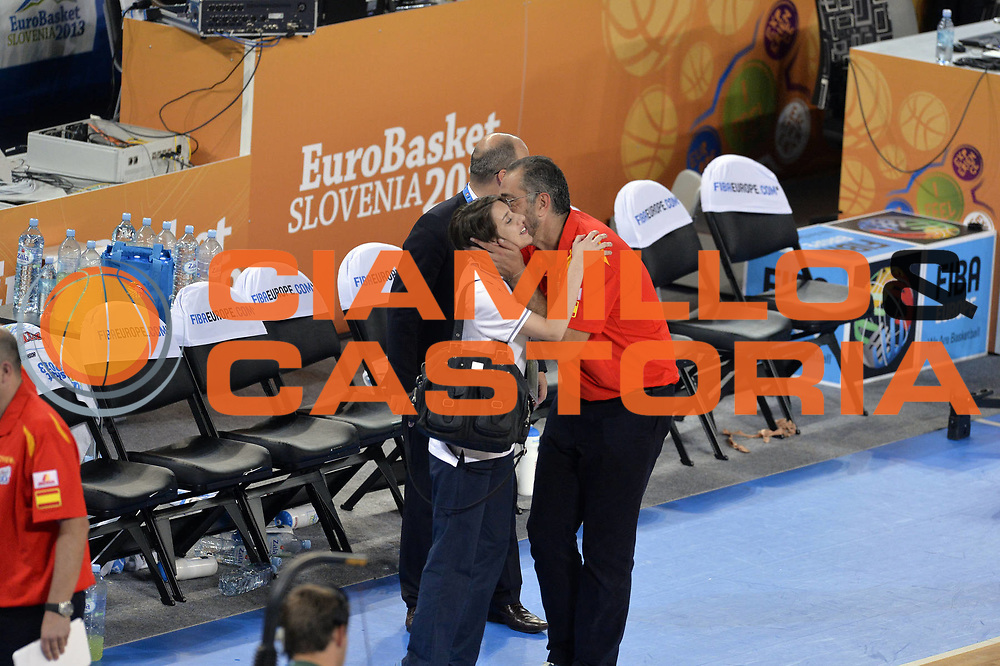DESCRIZIONE : Lubiana Ljubliana Slovenia Eurobasket Men 2013 Finale Terzo Quarto Posto Spagna Croazia Final for 3rd to 4th place Spain Croatia<br /> GIOCATORE : Juan Orenga<br /> CATEGORIA : esultanza jubilation<br /> SQUADRA : Spagna Spain<br /> EVENTO : Eurobasket Men 2013<br /> GARA : Spagna Croazia Spain Croatia<br /> DATA : 22/09/2013 <br /> SPORT : Pallacanestro <br /> AUTORE : Agenzia Ciamillo-Castoria/GiulioCiamillo<br /> Galleria : Eurobasket Men 2013<br /> Fotonotizia : Lubiana Ljubliana Slovenia Eurobasket Men 2013 Finale Terzo Quarto Posto Spagna Croazia Final for 3rd to 4th place Spain Croatia<br /> Predefinita :