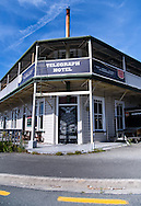 The quiet town of Takaka, New Zealand