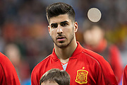 Marco Asensio of Spain during the International friendly game football match between Spain and Argentina on march 27, 2018 at Wanda Metropolitano Stadium in Madrid, Spain - Photo Rudy / Spain ProSportsImages / DPPI / ProSportsImages / DPPI
