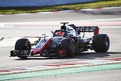 March 6, 2018 - Barcelona, Spain - Testvecka 2, Formel 1, Barcelona ..Kevin Magnusson, Haas (Credit Image: © JerrevÃ…Ng Stefan/Aftonbladet/IBL via ZUMA Wire)