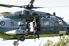 Wellington-Specialist Search Group helicopter training Porirua Police College