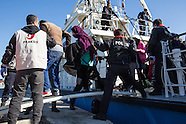 Refugees arrive on Lesvos, 05.03.16