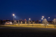 Baltimore Carroll Park Field House and Lighting Photography