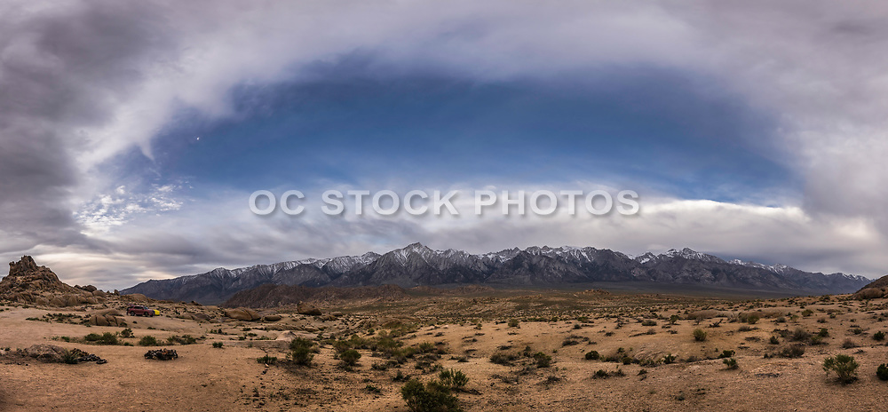 Sunrise Over The Alabama Hills And Mt Whitney
