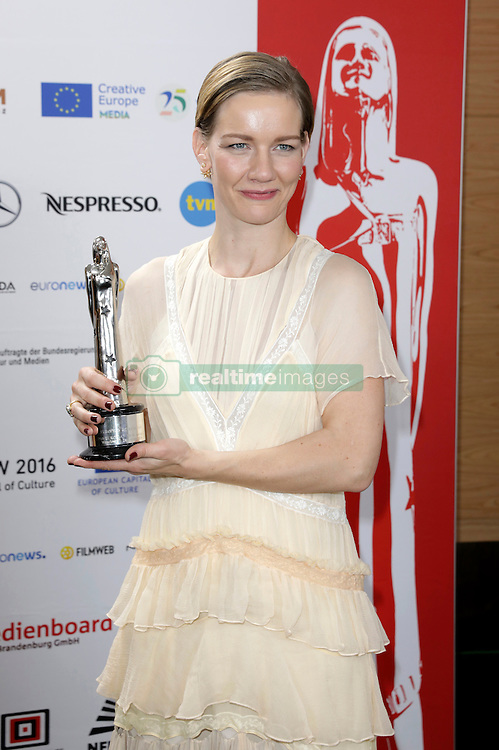 December 10, 2016 - Wroclaw, Lower Silesian, Deutschland - Sandra Hüller attends the 29th European Film Awards 2016 at the National Forum of Music on December 10,2016 in Wroclaw, Poland. (Credit Image: © Future-Image via ZUMA Press)