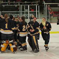 Women's Ice Hockey: University of Wisconsin-River Falls Falcons vs. University of Wisconsin-Eau Claire  Blugolds