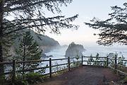 Natural Bridges viewpoint at Samuel H Boardman State Park, in Southern Oregon