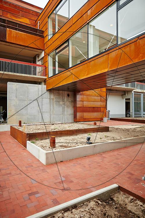 Farum Midtpunkt, bygning af plejecenter og seniorboliger, Hoffmann, KAB