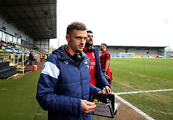 Jamie Paterson of Bristol City arrives at The Pirelli Stadium for the Sky Bet Championship match with Burton Albion - Mandatory by-line: Robbie Stephenson/JMP - 10/03/2018 - FOOTBALL - Pirelli Stadium - Burton upon Trent, England - Burton Albion v Bristol City - Sky Bet Championship