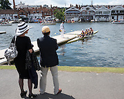 Henley on Thames. United Kingdom.  Sunday,  General View of the Boat Area.  California RC, boating from the pontoon.03/07/2016,      2016 Henley Royal Regatta, Henley Reach.   [Mandatory Credit Peter Spurrier/Intersport Images]