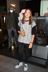 CARINA MAGGAR at the opening of the Tiger of Sweden Store, 210 Piccadilly, London on 3rd October 2013.